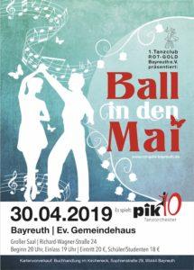 Flyer Ball in den Mai 2019