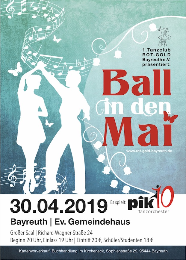 Flyer Ball in den Mai 2019